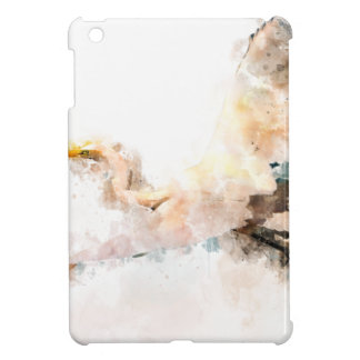 Étui iPad Mini Conception d'aquarelle, vol d'oiseau de grue