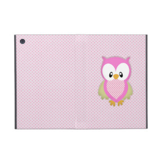 Étui iPad Mini Copie rose mignonne d'image de motif de rose de po
