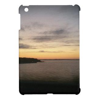 Étui iPad Mini Coucher du soleil de Texoma de lac