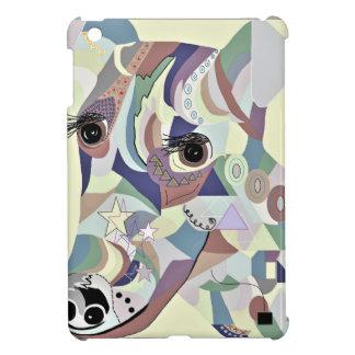 Étui iPad Mini Couleurs douces de denim de Fox Terrier
