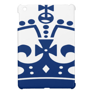 Étui iPad Mini Couronne bleue
