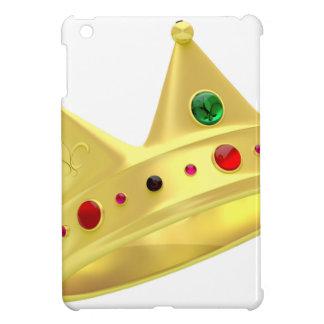 Étui iPad Mini Couronne d'or