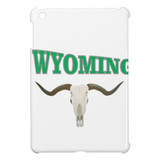 Étui iPad Mini Crâne du Wyoming