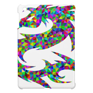 Étui iPad Mini dragon coloré