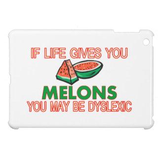 Étui iPad Mini Dyslexie de melon