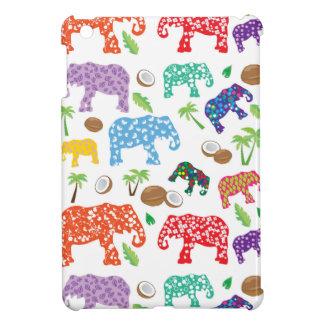 Étui iPad Mini Éléphants tropicaux