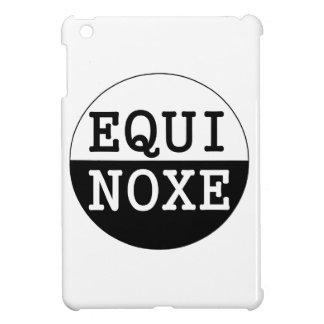 Étui iPad Mini équinoxe noir et blanc