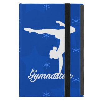 Étui iPad Mini Étoiles bleues de fille de gymnastique