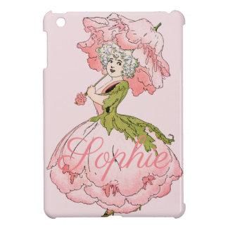 Étui iPad Mini Fée vintage Personnalised de fleur