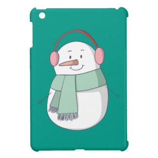 Étui iPad Mini Fille de bonhomme de neige