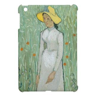 Étui iPad Mini Fille de Vincent van Gogh | dans le blanc, 1890