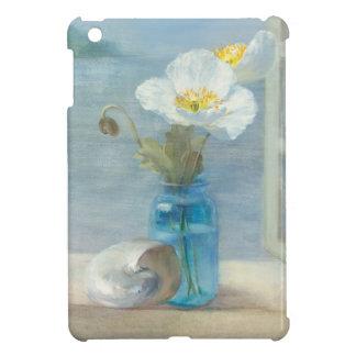 Étui iPad Mini Fleur blanche donnant sur la mer