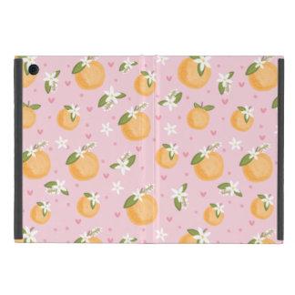 Étui iPad Mini Fleurs oranges