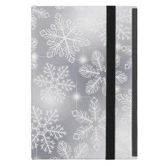 Étui iPad Mini Flocons de neige et lumières