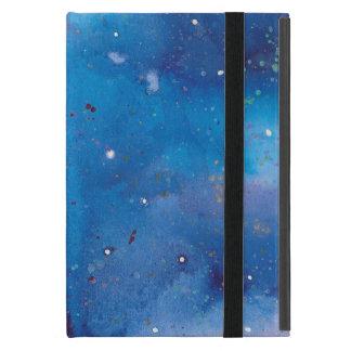 Étui iPad Mini Galaxie bleu-foncé