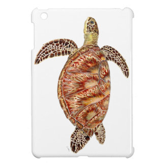 Étui iPad Mini Green turtle - Tortue verte Chelonia mydas