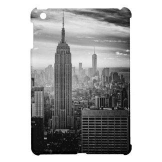 Étui iPad Mini Horizon noir et blanc de New York City