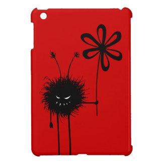Étui iPad Mini Insecte mauvais rouge de fleur