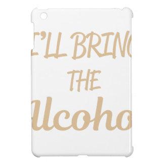 Étui iPad Mini J'apporterai l'alcool