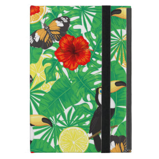 Étui iPad Mini Jardin tropical