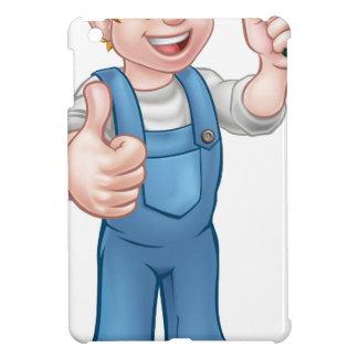 Étui iPad Mini Jardinier de bande dessinée