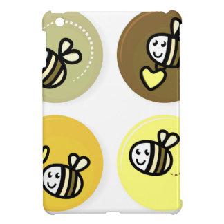 Étui iPad Mini Jaune merveilleux d'abeilles de vol