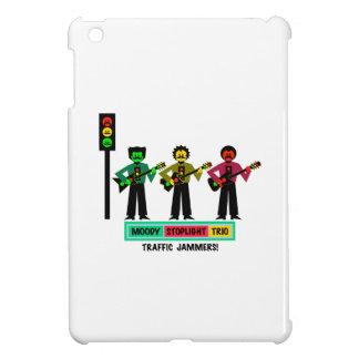 Étui iPad Mini Joueurs de guitare déprimés de moustache de trio