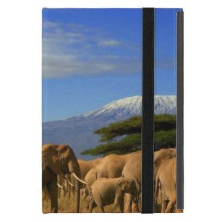 Étui iPad Mini Kilimanjaro et éléphants