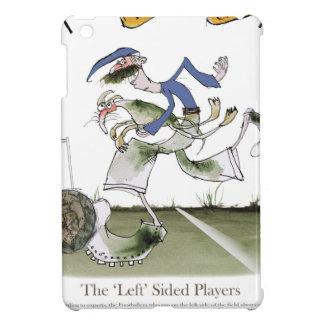 Étui iPad Mini kit de bleu de gauche du football