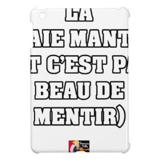 ÉTUI iPad MINI LA RAIE MANTA (ET C'EST PAS BEAU DE MENTIR)