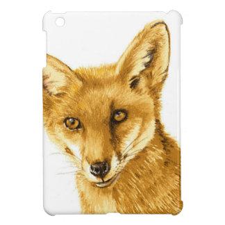 Étui iPad Mini La vie sauvage rouge britannique de Fox