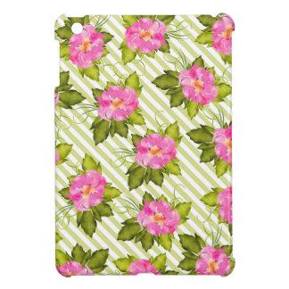 Étui iPad Mini Le vert tropical de fleur barre la mini caisse