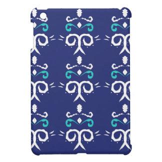 Étui iPad Mini Les gens bleus ornementent le luxe