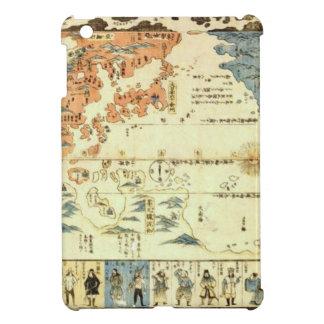 Étui iPad Mini Les gens de beaucoup de nations Ukiyo-e