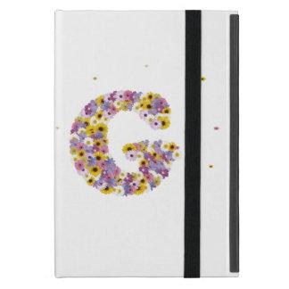 Étui iPad Mini Lettre G de monogramme