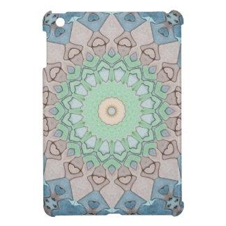Étui iPad Mini Mandala de pastels de ton de la terre