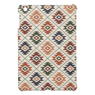 Étui iPad Mini Mélange de couleur de motif stylisé par symbole