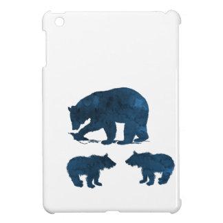Étui iPad Mini Mère et petits animaux d'ours