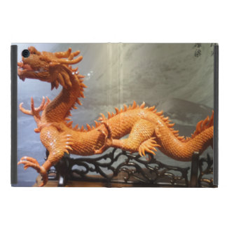 Étui iPad Mini Mini cas d'iPad chinois de dragon sans Kickstand