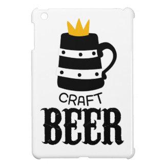 Étui iPad Mini Modèle de conception de logo de bière de métier