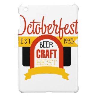 Étui iPad Mini Modèle de conception de logo d'Oktoberfest