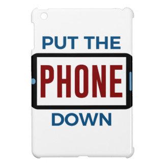 Étui iPad Mini Moins de téléphone plus de contact humain de