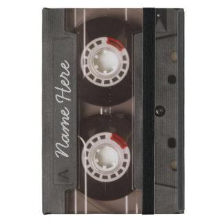 Étui iPad Mini Monogramme vintage de cassette de bande des années