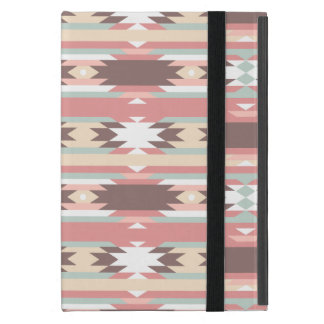 Étui iPad Mini Motif aztèque tribal coloré