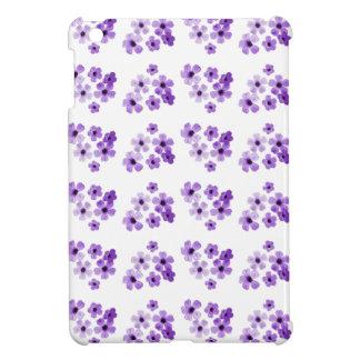 Étui iPad Mini Motif de fleurs pourpre