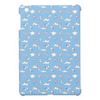 Étui iPad Mini Motif de jour pluvieux de griffonnage