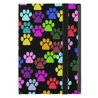 Étui iPad Mini Motif de patte, pattes de chien, pattes de chiot -