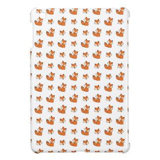 Étui iPad Mini motif de renards rouges