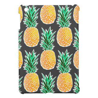 Étui iPad Mini Motif géométrique tropical d'ananas