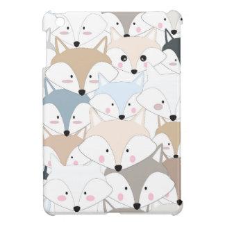Étui iPad Mini Motif mignon de renard ou de loup de bande
